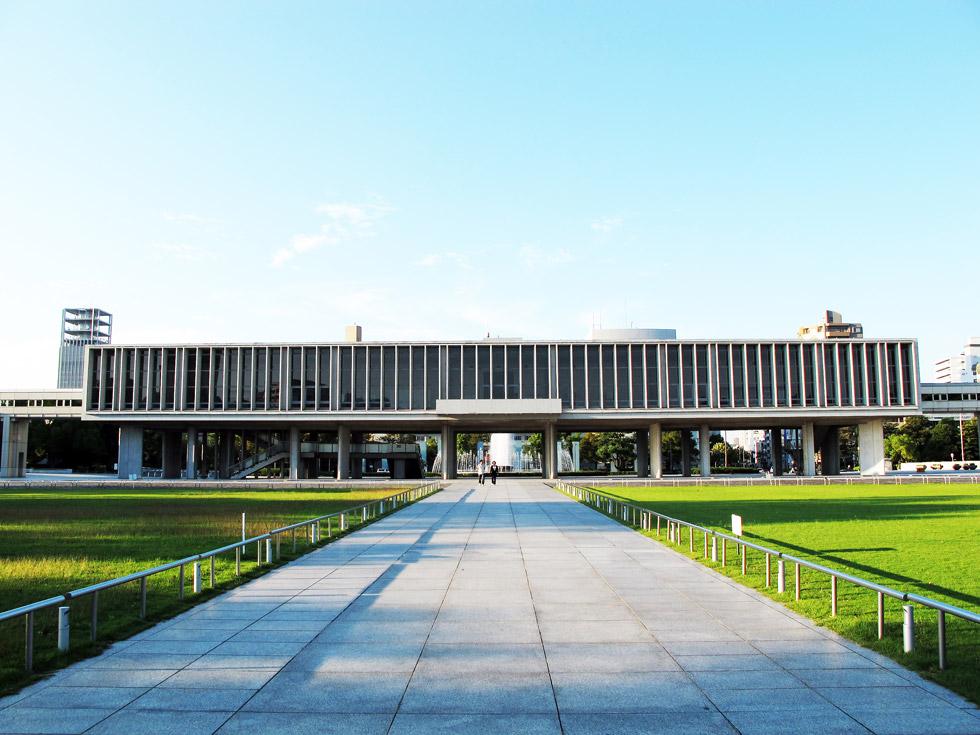 Кензо Танге. Мемориал Мира, Кензо Танге, г.Хиросима