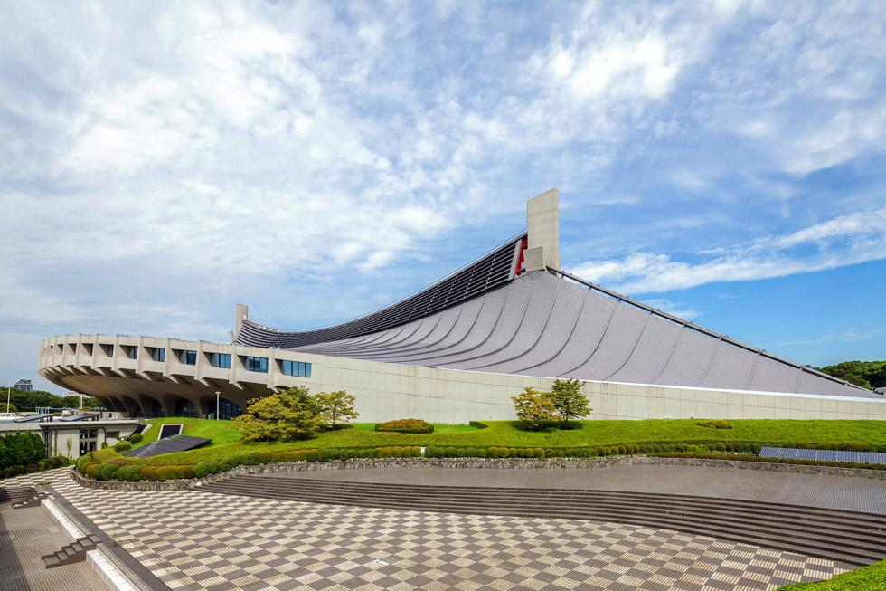 Стадион Yoyogi Gymnasium, Токио, 1964 г.