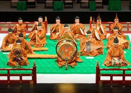 Японская традиционная музыка. Древний период: Музыка из глубины веков