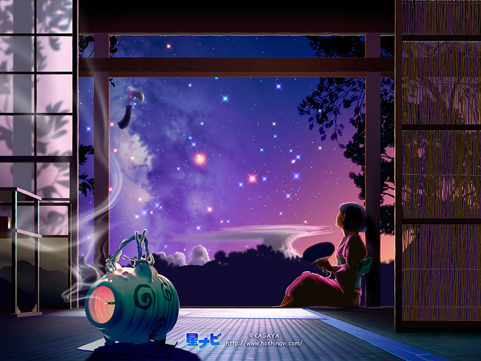 Кагая Любование звёздами
