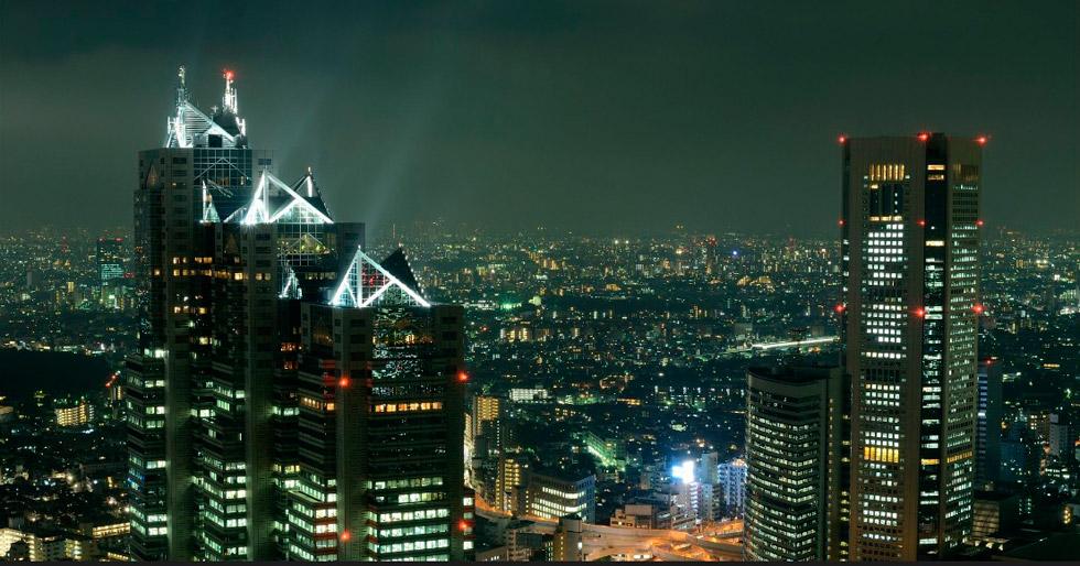 Кензо Танге. SHINJUKU PARK TOWER, Токио (1990-1994)