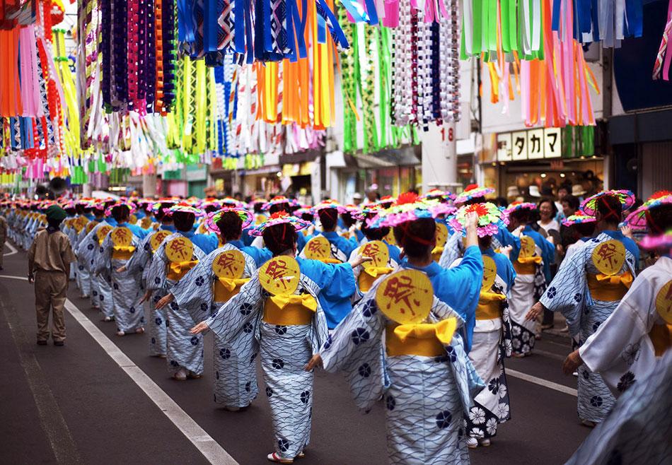 Танабата парад