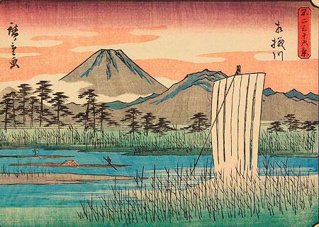 Утагава Хиросигэ: атмосфера и дух Японии в пейзажах укиё-э
