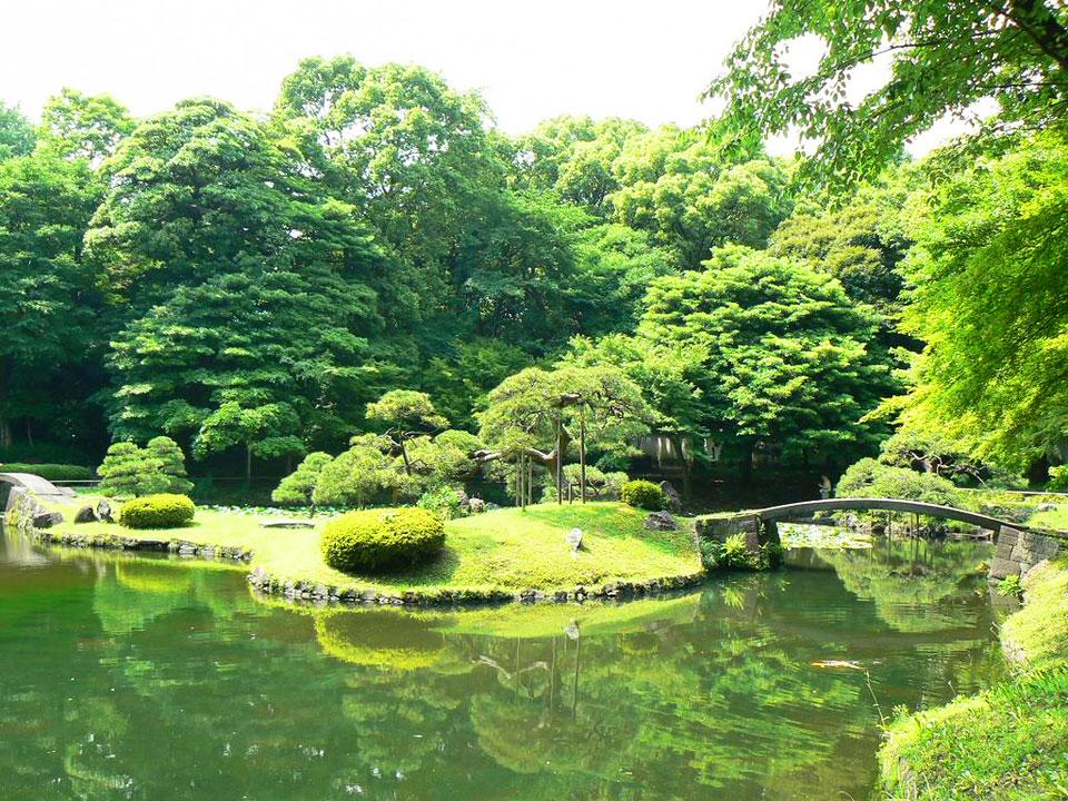 Японский сад Коисикава Коракуэн