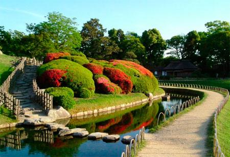 сады в Японии