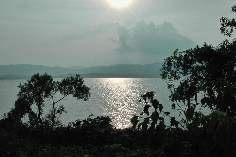 Япония Озеро Бива