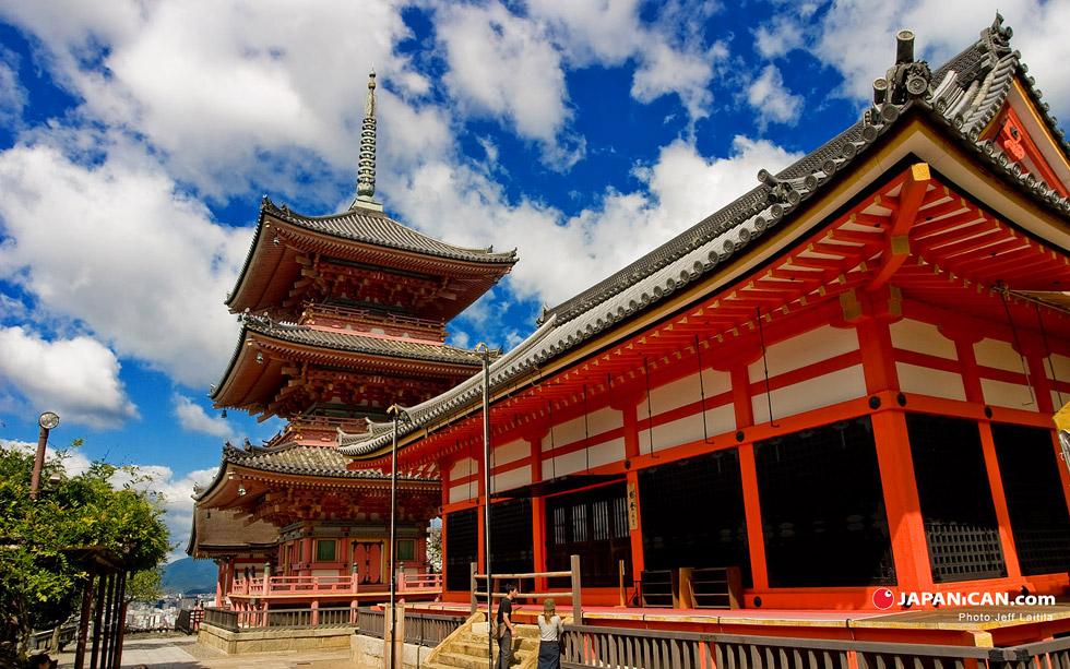 Пагода в Киото Храм Чистой воды