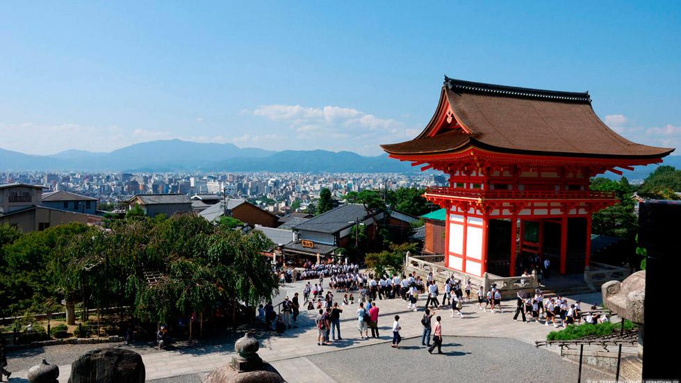 Храм чистой воды Киото