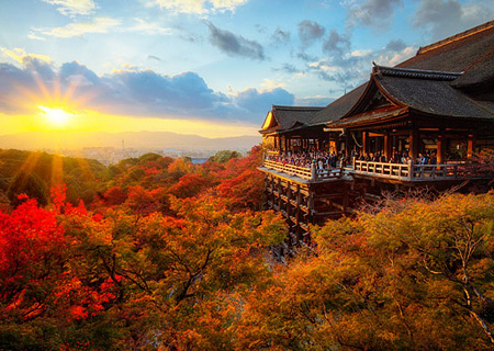 Киёмидзу-дэра – жемчужина японского храмового зодчества