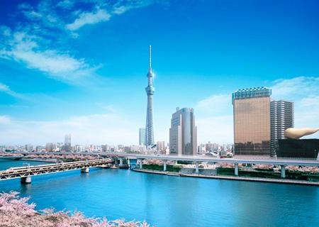 Самая высокая телебашня в мире –  Небесное дерево в Токио