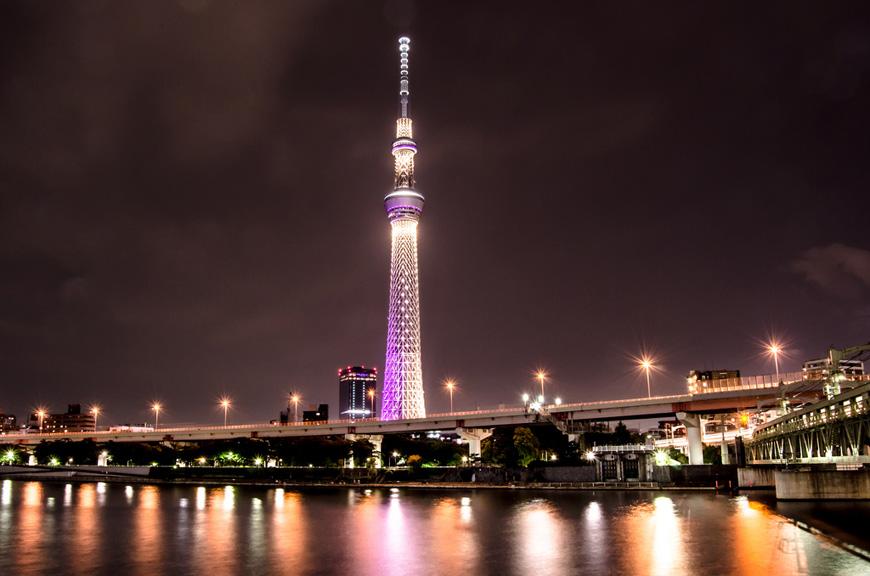 Телебашня Скай Три в Токио