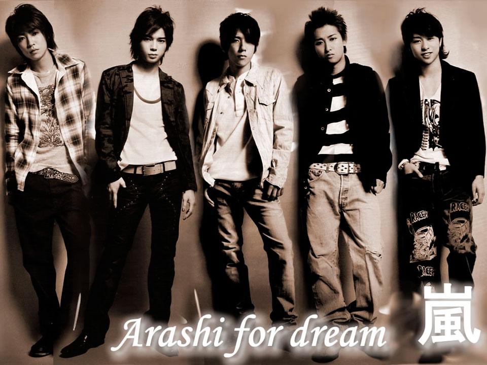Японская айдол группа Arashi