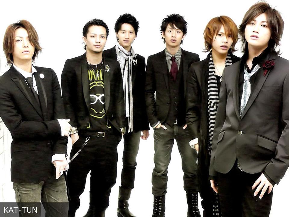 Японская айдол группа kat-tun