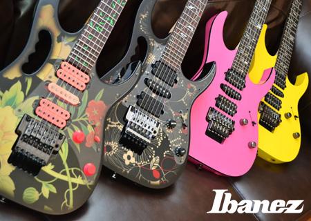 Японские гитары IBANEZ – история, музыканты, видео