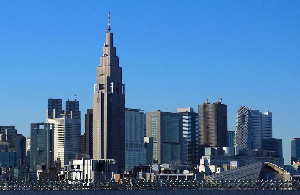 Здание Докомо Токио