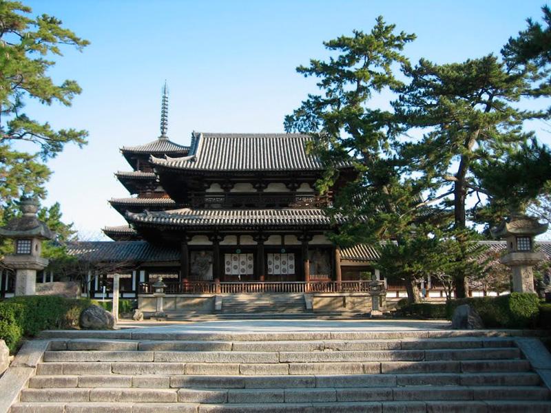 Икаруга Буддийский храм