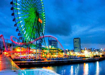 Йокогама - в порту будущего Минато Мираи города, который никогда не спит Часть I