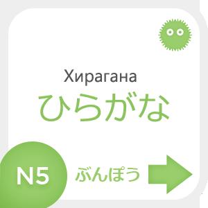 Хирагана - пишем, читаем, учим японскую азбуку